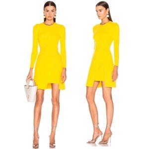 A.L.C. Hadley Mini Dress Yellow NWT